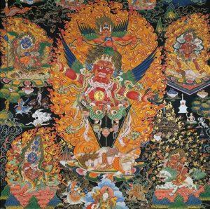 11 января - Практика Гуру Драгпура в гомпе Ринченлинга
